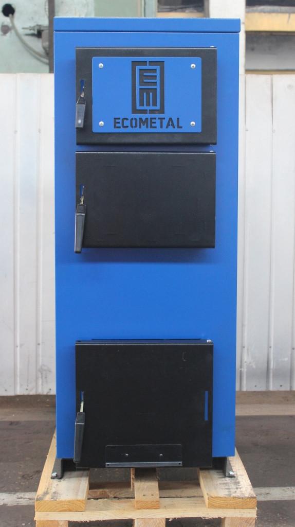 Твердотопливный котел EKOMETAL-UKR 40-45 кВт (экометал)