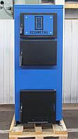 Твердотопливный котел EKOMETAL-UKR 40-45 кВт (экометал), фото 1
