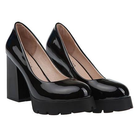 56760eeec88a 35, 37 р Женские туфли (лаковые, черные, удобные, на каблуке, на платформе,  Джельсомино