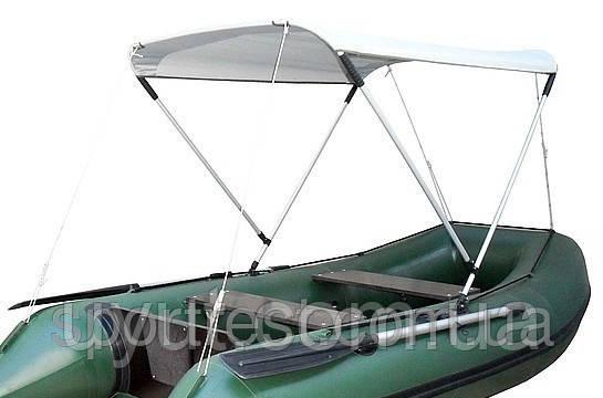 Тент солнцезащитный (на лодки 2,2м-3,3м)