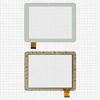 Сенсорный экран (touchscreen) для Pixus Play Four, 40 pin, белый, оригинал
