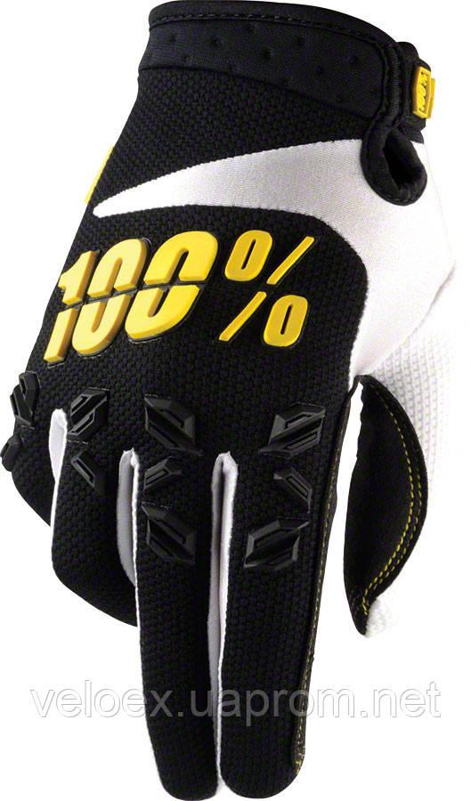 Перчатки Ride 100% AIRMATIC Glove черные