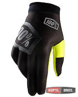 Перчатки Ride 100% iTRACK Incognito Glove черные