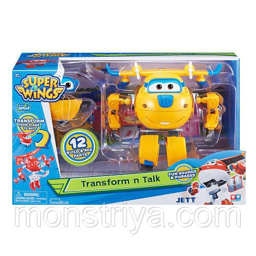 Мовець трансформер, Донні Супер Крила -Super Wings (Світло і звук!)