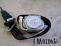 Ремень безопасности передний левый от Mazda 6, АКПП, 2.0i, 2004 г.в. GJ6A57L90E