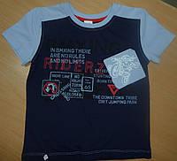Хлопковая футболка для мальчика рост 134
