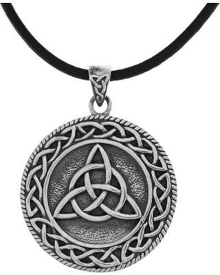 Магический кулон трикветр, кельтский узел
