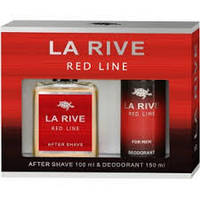 Мужской подарочный набор LA RIVE RED LINE  (Туалетная вода+дезодорант)