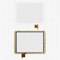 Touchscreen (сенсорный экран) для Texet TM-9757 3G, 6 pin, оригинал (белый)