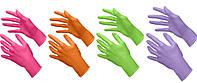 Нитриловые перчатки плотные Микс Италия 40шт упаковка