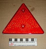 Отражатель треугольник красный  ФП-401Б