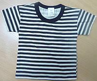 Хлопковая футболка детская рост 80