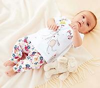 Літній костюм - двійка для дівчат-немовлят