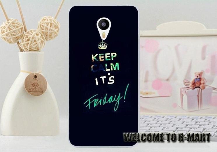 Силіконовий чохол для Meizu M2 Note з картинкою it's friday