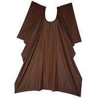 Парикмахерская накидка Glimmer темно - коричневая