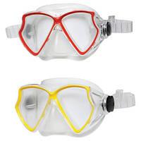 Маска для плавания Sea Scan Swim Intex 55980 2 цвета, маска пловца от 8 лет, детская маска для плавания