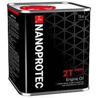 Минеральное моторное масло NANOPROTEC SUPER 2T 1л
