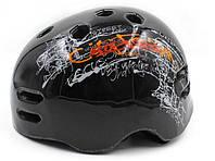 Шлем - котелок для экстремальных видов спорта MTV18-4 черный