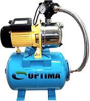 Насосная станция Optima JET 100S-24 1,1кВт нержавейка латунная крыльчатка