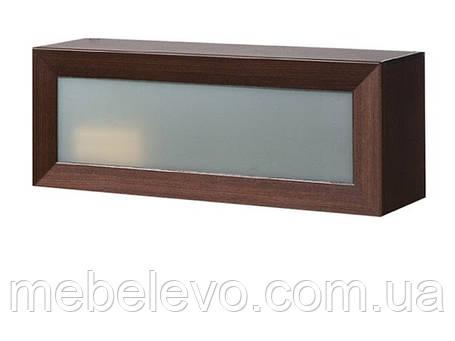 Полка навесная Клео 106 стекло 395х1060х305мм    Світ Меблів, фото 2
