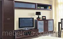 Полка навесная Клео 106 стекло 395х1060х305мм    Світ Меблів, фото 3