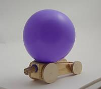 Деревянный конструктор - развивающая игрушка-машинка «Аэромобиль»
