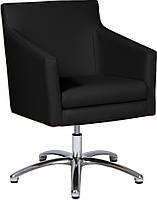 [ Кресло офисное Nostalgie GTP D-5 + подарок ] с подлокотниками и нишей для ног