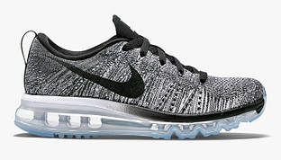 Кроссовки Nike Air Max Flyknit White Black Cool Grey