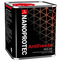 Антифриз NANOPROTEC ANTIFRIZE RED -80 1l