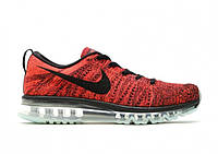 Кроссовки Nike Air Max Flyknit Red, фото 1