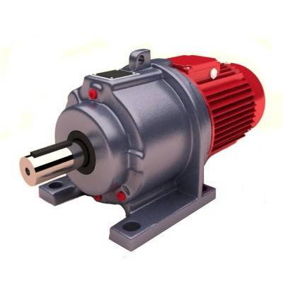 Редуктор 3МП-40 (1-2 ступенчатый) для двигателя 90 габарита. Исполнение лапы , фото 2