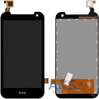 Дисплей (экран) для телефона HTC Desire 310 (128*63,5) + Touchscreen Original Black