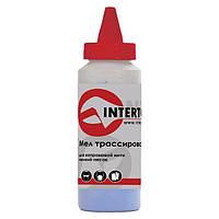 Мел трассировочный 115 г, синий Intertool MT-0005