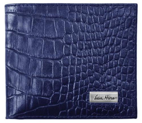 Дизайнерское портмоне, горизонтальное, кожаное ISSA HARA WB1 (23-00)