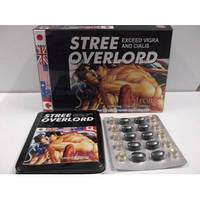 Stree Overlord (Уличный любовник) сильнейшее средство для увеличения уровня тестостерона (12800мг)