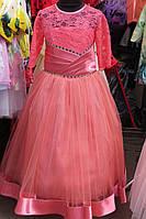 Детское бальное платье 6-9лет
