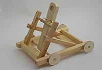 Деревянный конструктор - развивающая игрушка «Катапульта», фото 1