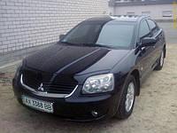 "Дефлектор капота Mitsubishi Galant 2004-2008-> ""VIP-Tuning"" темный"