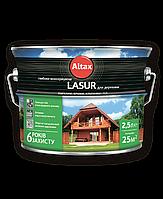 LASUR для древесины глубоко консервирующая 2.5л (белый)