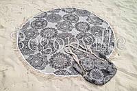 Полотенце пляжное круглое Begonville - Lace 4 (Ø 150)