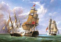 Пазлы Castorland 3000шт (300037) 92*68 см (Бой кораблей)
