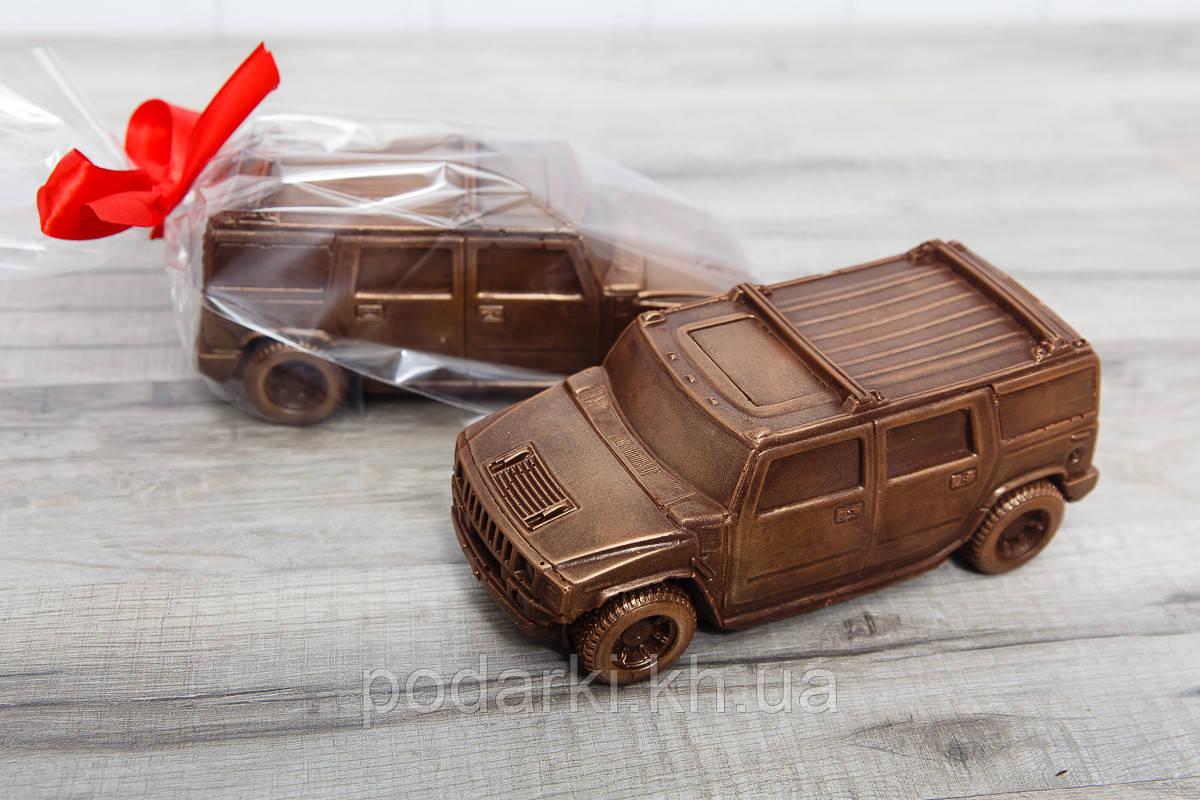 Шоколадный автомобиль Hummer