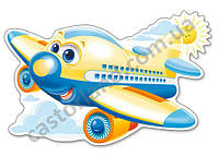 Пазлы Castorland Maxi 12шт (120031) 47*31 cм (Самолетик)