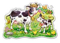 Пазлы Castorland Maxi 12шт (120062) 47*31 cм (Коровки на лугу)