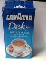 Молотый кофе Lavazza Dek