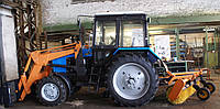 Щетка дорожная с гидроприводом  к тракторам МТЗ-320, ВТЗ-2032, ХТЗ-2511, Foton FT-400, FT-454, FT-450, FT-404