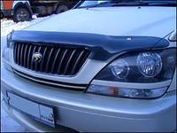 """Дефлектор капота Lexus RX-300/330 1997-2003 (Toyota Harrier) """"SIM"""" тёмный"""