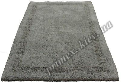 """Индийский коврик ручной работы для ванной """"Инсайд"""", цвет - серый"""