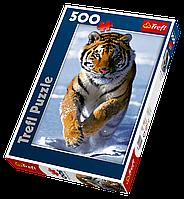 Пазлы Trefl  500шт (37009) 48*34см (Снежный тигр)