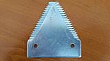 Сегмент ножа жатки New Holland, Case 112074A1 , 191256A1, 826720C2, 826720C3, 44100000, 86509271 ,  86544260, фото 2